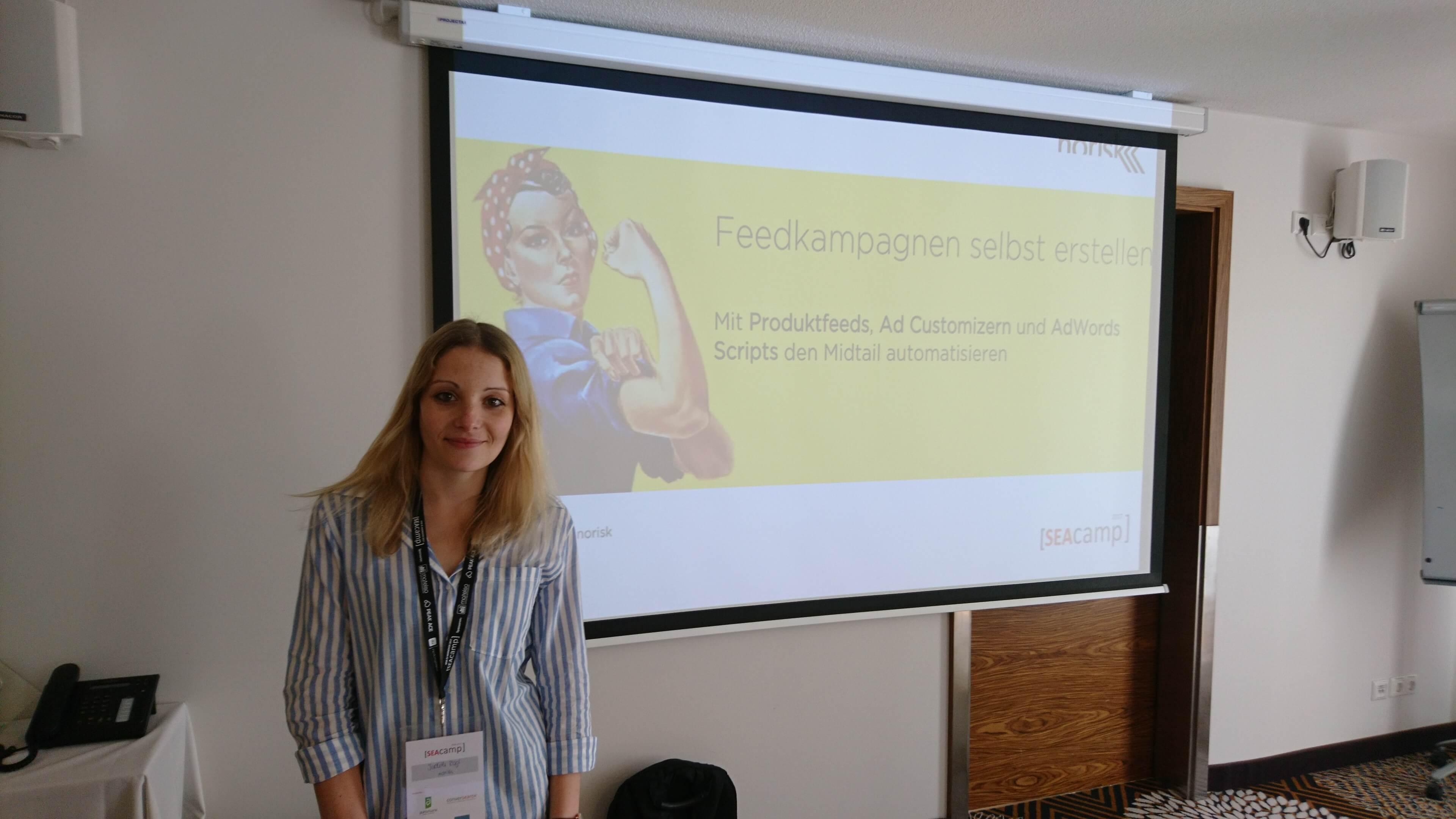 Judith Rogel - SEAcamp 2017 Jena