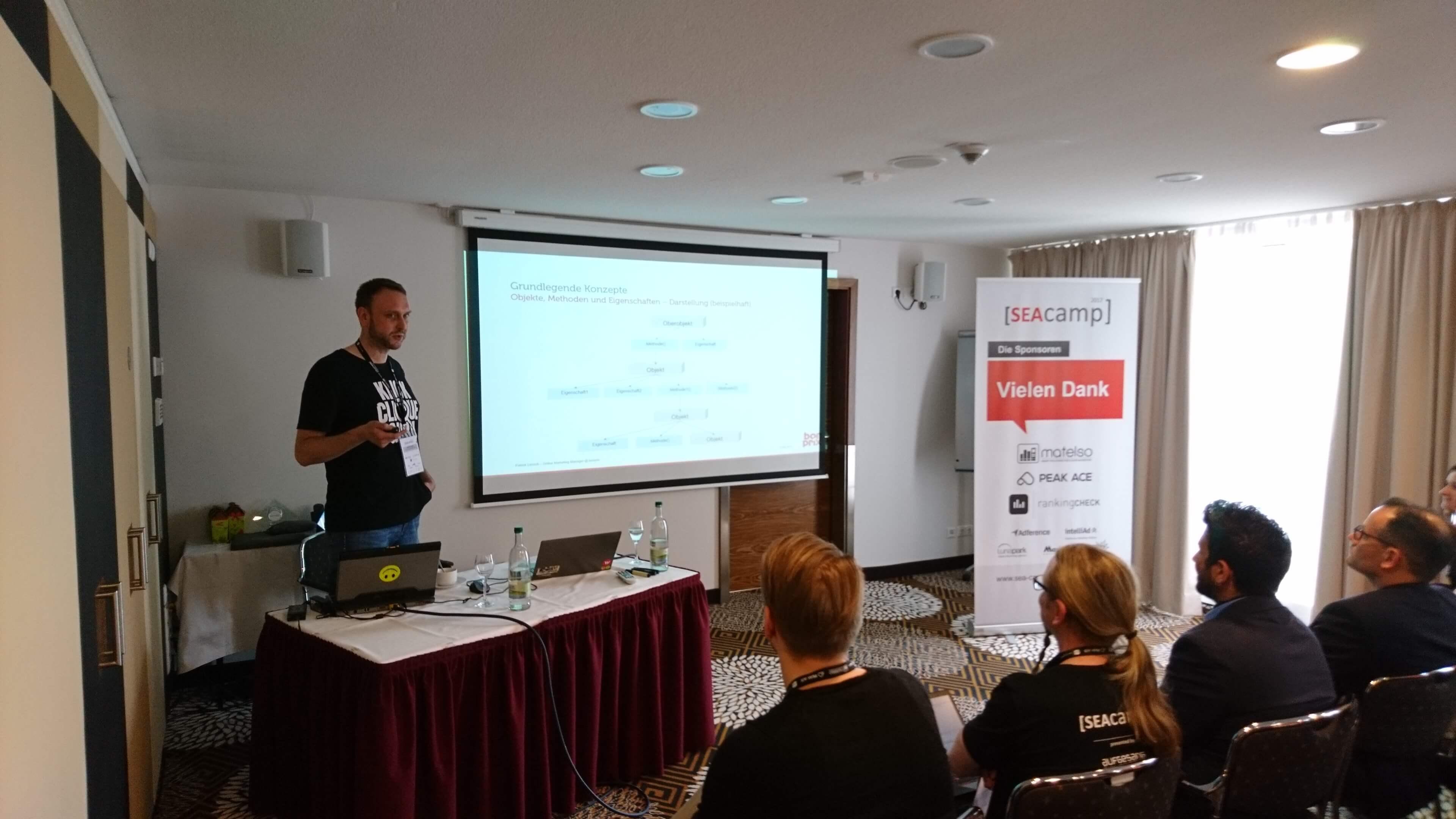Patrick Lensch - SEAcamp 2017 Jena
