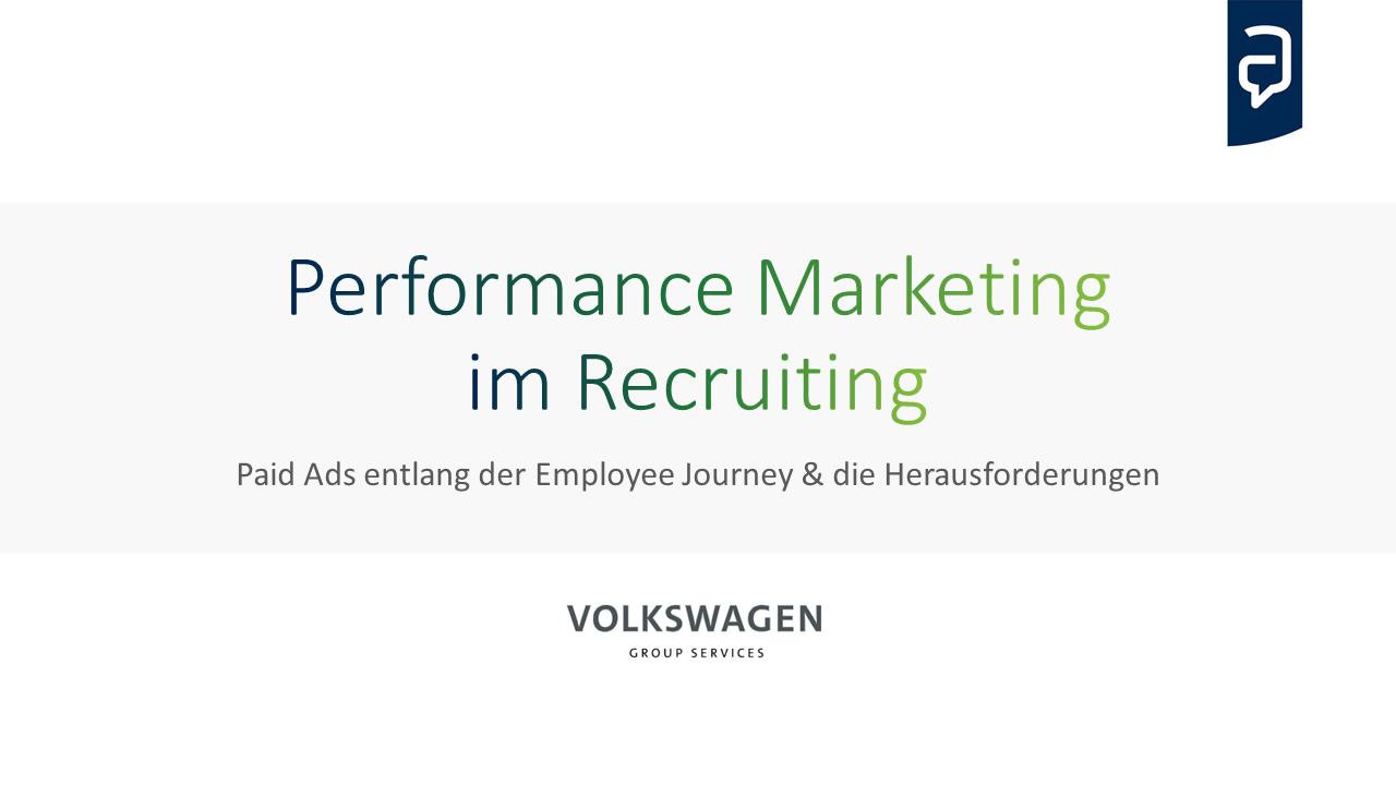 Performance Marketing im Recruiting