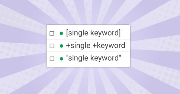 Wirklich alles zu SKAGs | Single Keyword Ad Groups